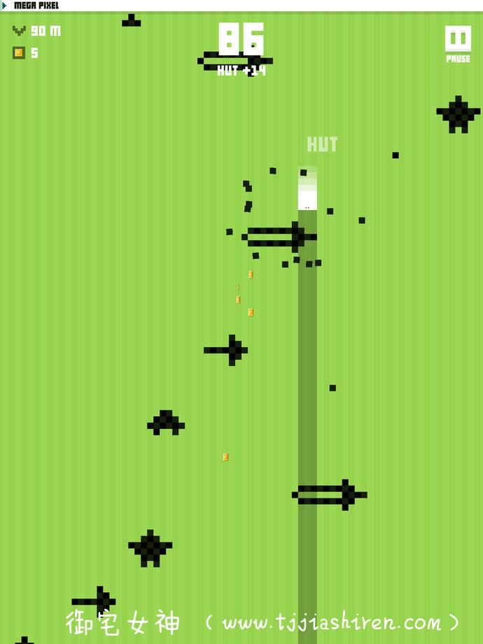 超级复古的八位像素级别街机跑酷游戏:致命像素 Mega Dead Pixel原汁原味再现童年时的快乐体验  无论是上班摸鱼亦或是下班公交车都可以打开畅玩一番~