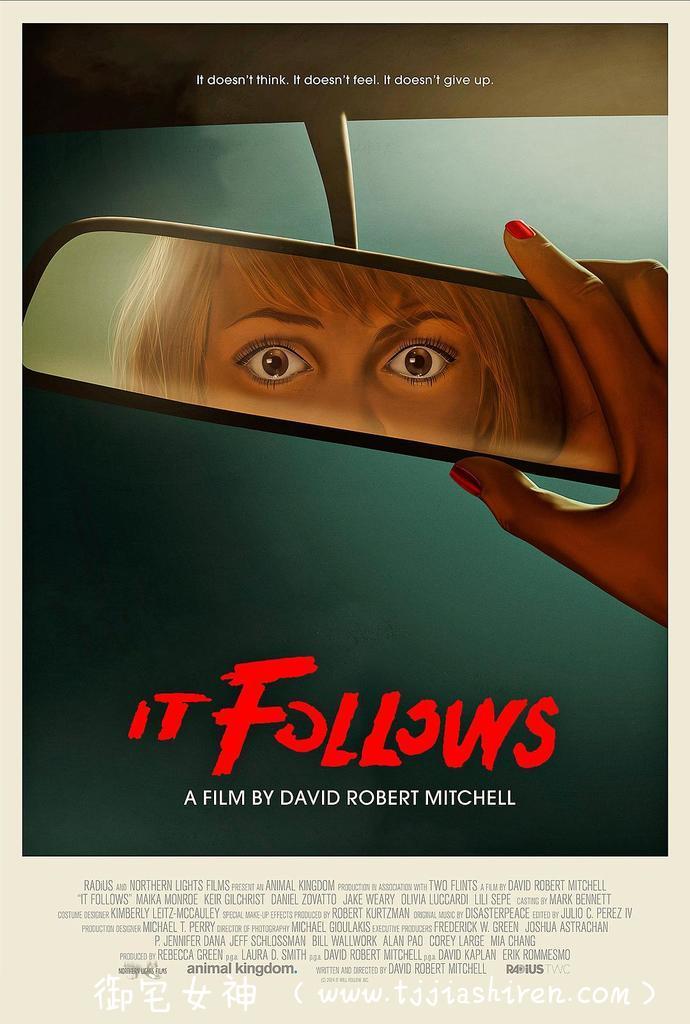 《它在身后 It Follows》,关于我在恐怖电影里面发现一点社会意义这件小事!