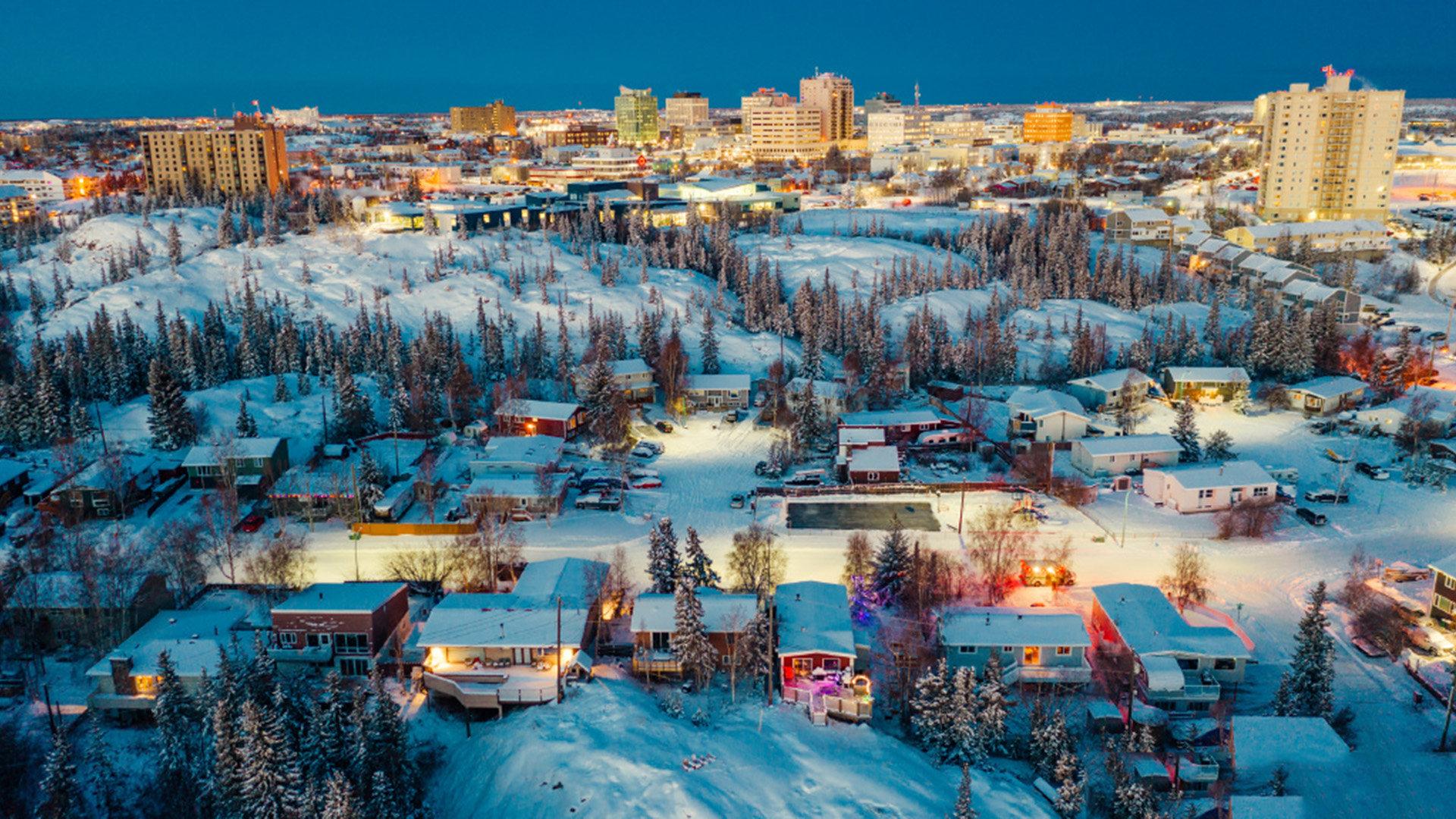 雪后美景自然风光