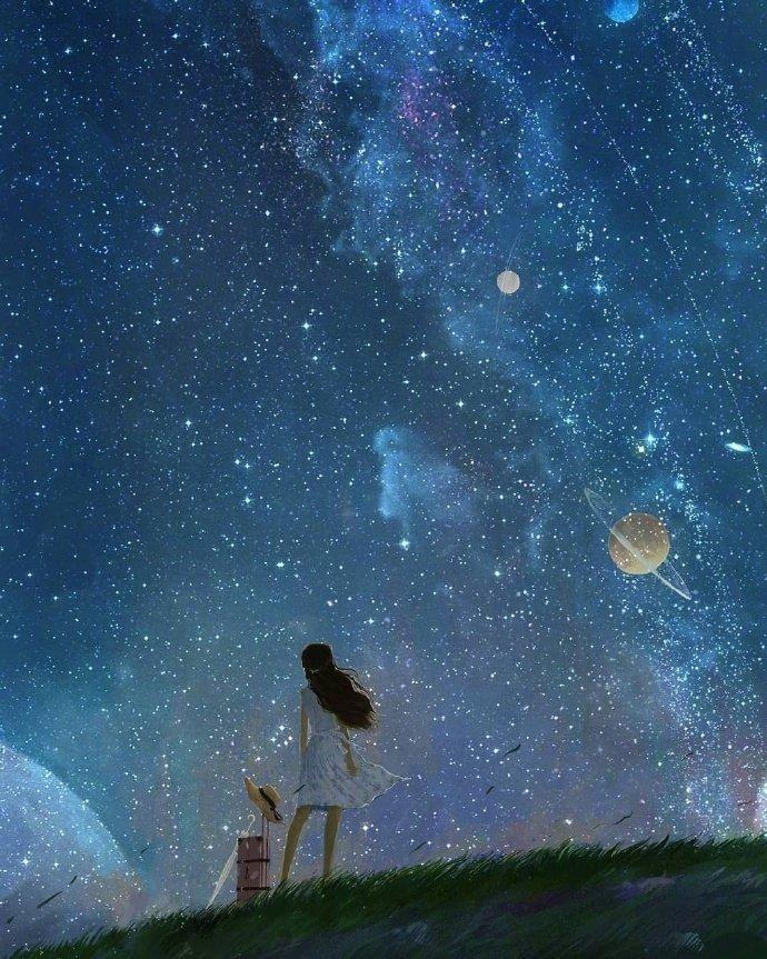 晚上发圈的晚安语,干净阳光,温暖暖心带美图