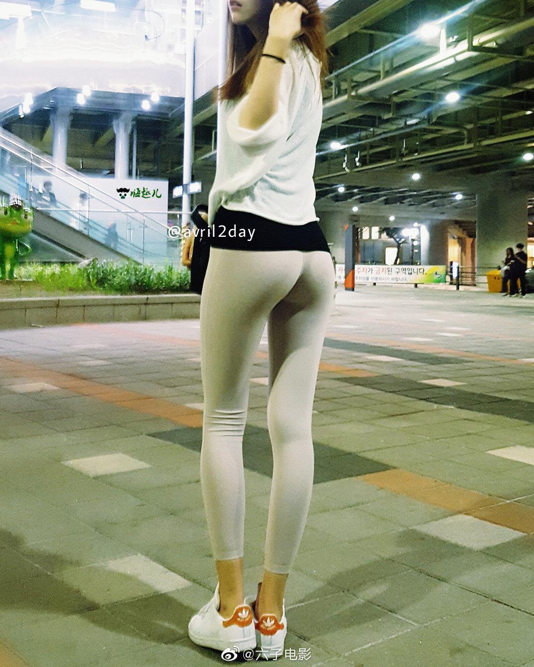 靠臀部走红的韩国网红avril2day 这美腿与桃心臀的搭配太完美 福利吧 第6张