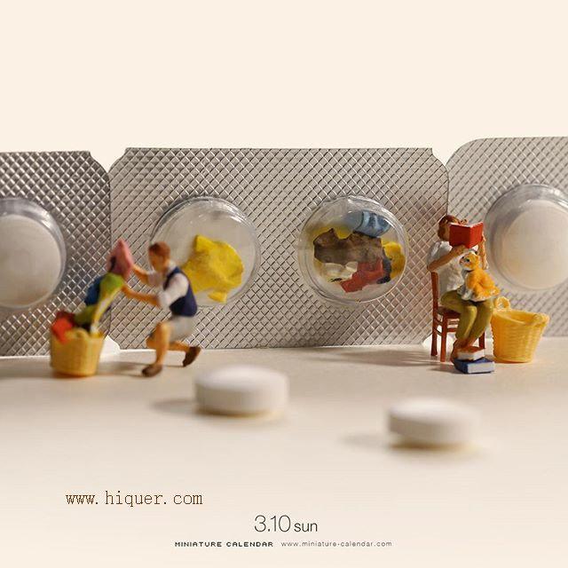 好梦幻的场景,日本摄影师田中达也有趣的微型小人世界 趣事儿 第5张