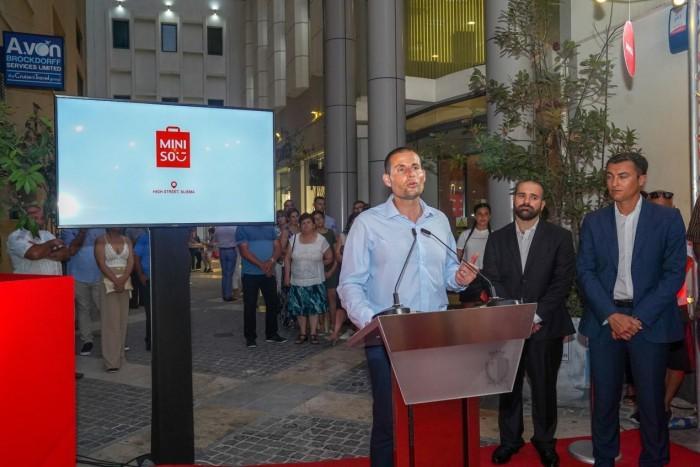 马耳他总理赞扬名创优品疫情期间逆势扩张
