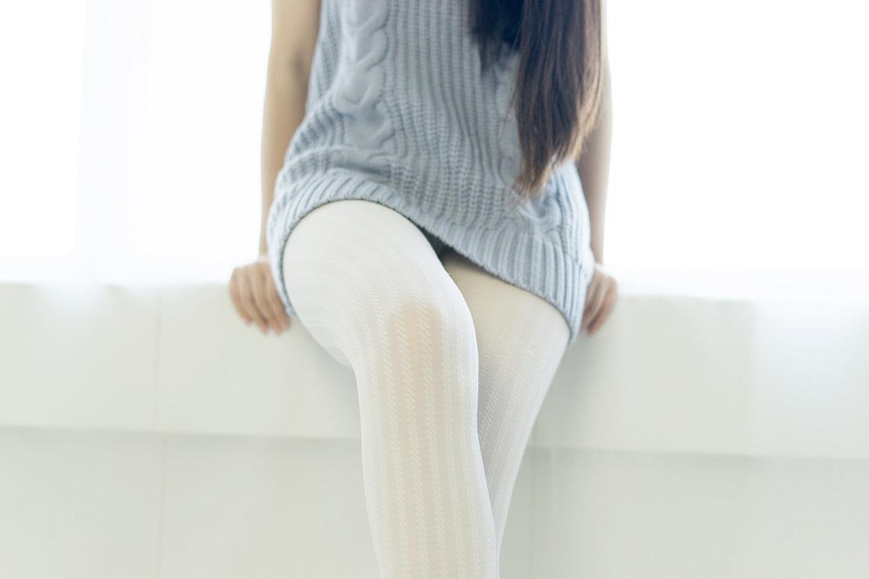 黑白袜裤图 福利吧 第1张