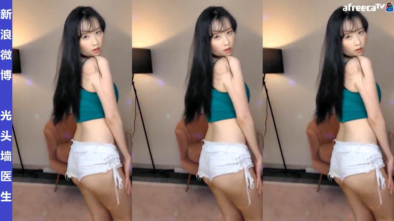 韩国女主播剖妮포니直播热舞剪辑20200124