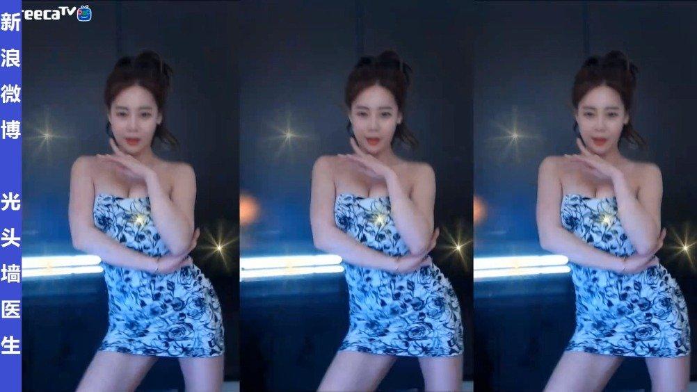韩国美女主播朴素恩박소은直播热舞剪辑20200202