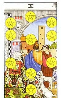 【小阿尔卡纳】元素指导下的数字历程——土元素小牌