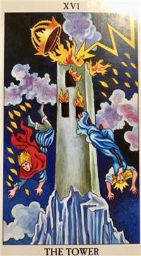 韦特塔罗牌:塔——神意之外的必被毁灭