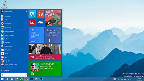 Windows 10更受到桌面用户喜爱 统计显示占41%的照片 - 1