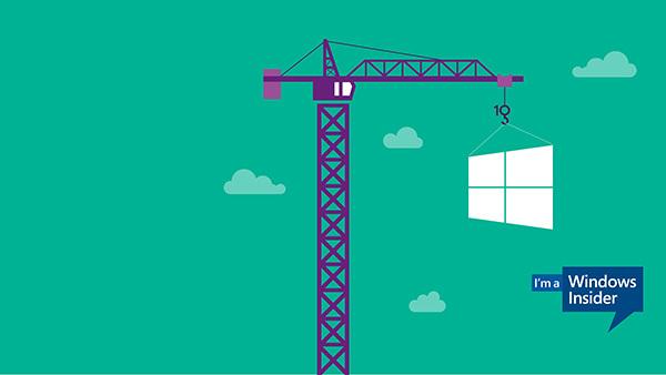 微软Windows 10官方壁纸下载 Windows Insider壁纸下载的照片 - 1