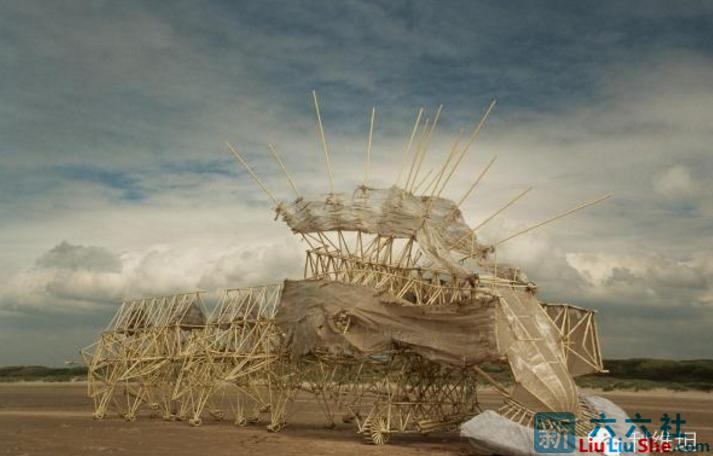 """""""海滩仿生兽""""-未来它们将会是这个星球的主人 liuliushe.net六六社 第8张"""