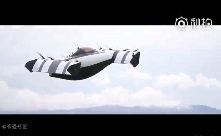 未来黑科技飞行器:单座全电动飞车BlackFly 廉价的泡妞利器