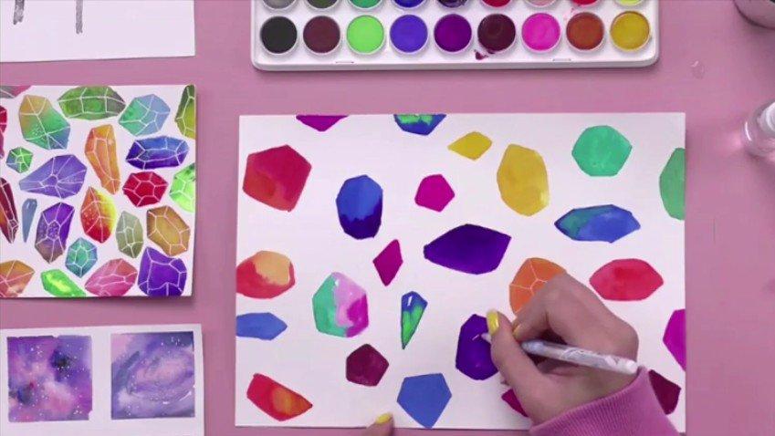 0基础亲子绘画课,用艺术激发孩子的潜能
