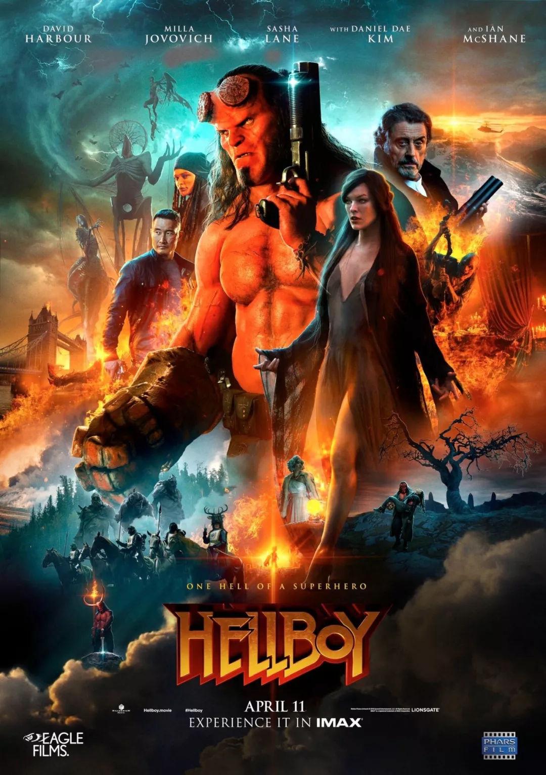 【地狱男爵:血皇后崛起】从地下爬出的巨型怪兽们残忍虐杀人类 有人来拯救他们吗?