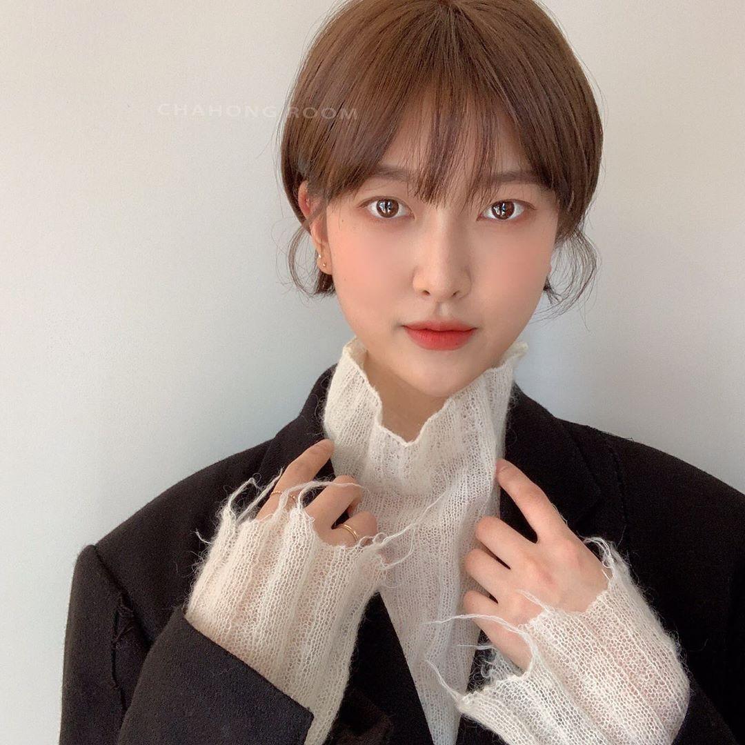 到了春天想换发型?这些韩国女生的短发造型或许能给你灵感!插图(7)