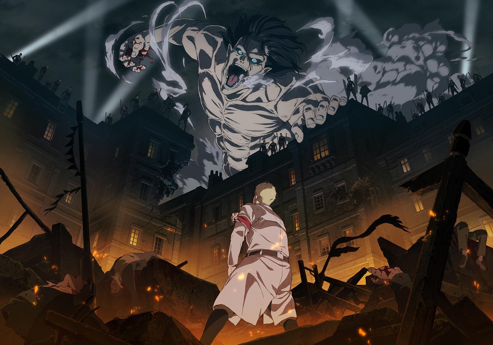 《进击的巨人The Final Season》最终季宣传动画放出,由MAPPA担任动画制作