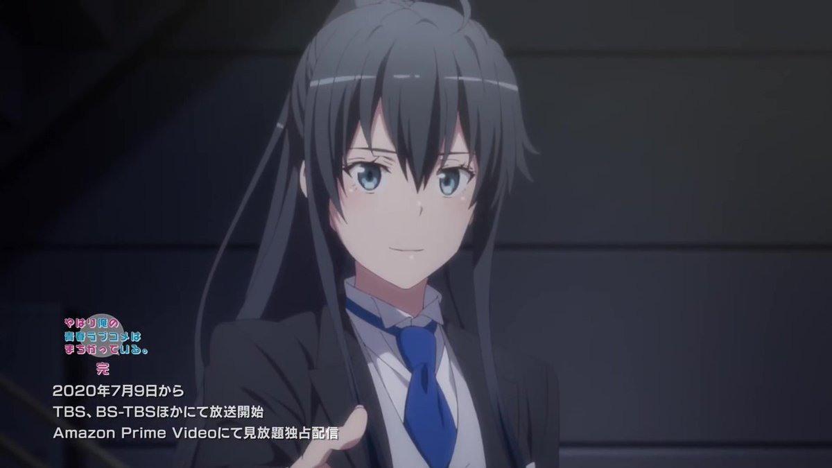 动画版《我的青春恋爱物语果然有问题》第三季官方发布宣传海报及预告片