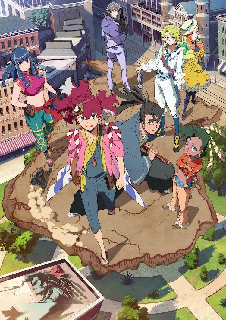 原创TV动画《天晴烂漫!》将在7月3日开播