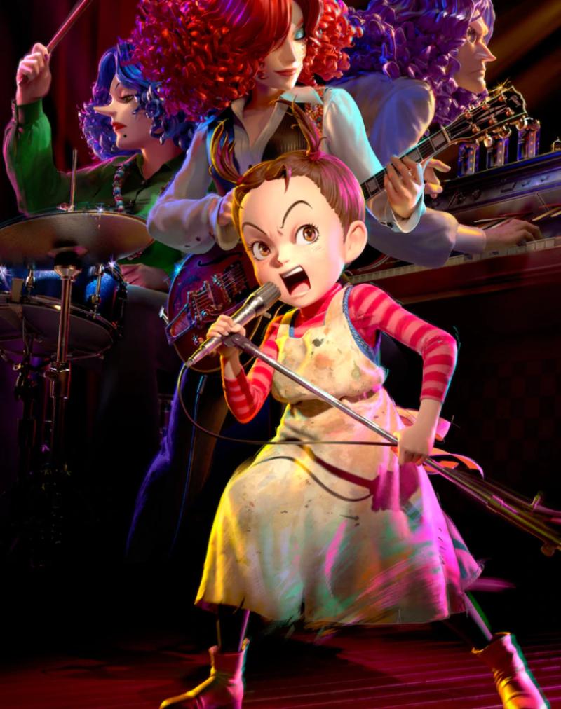 阿雅与魔女:吉卜力工作室首部完整CG电影的官方照片