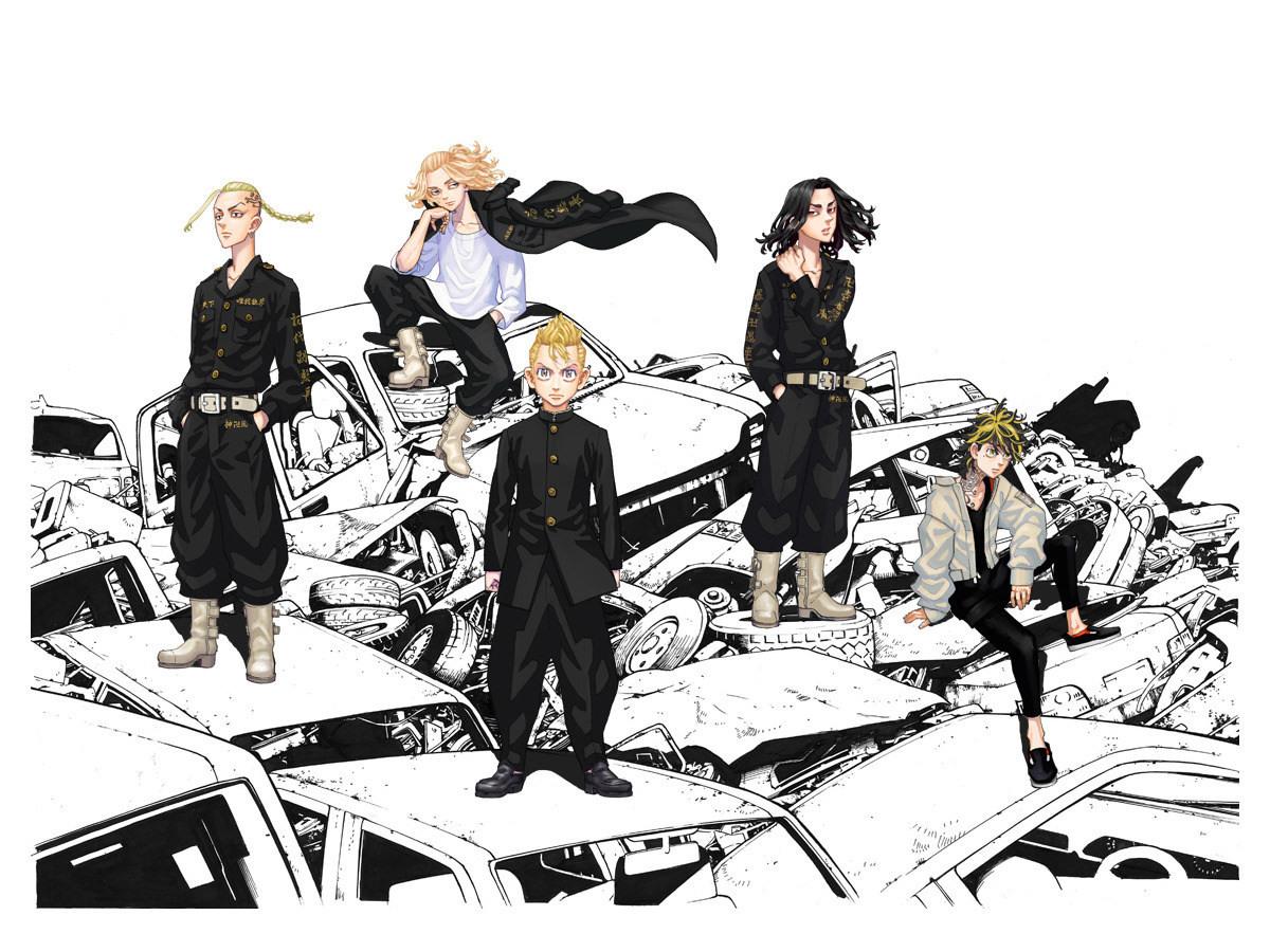 《东京卍复仇者》TV动画版将于明年开播,官方发布PV及宣传海报