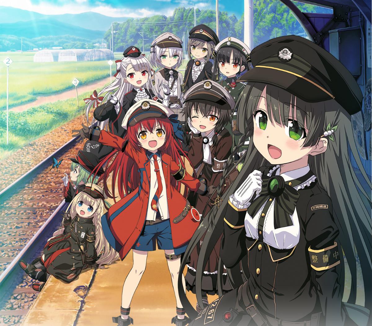 《爱上火车》宣布将推原创短篇动画主视觉图以及首波声优名单公开