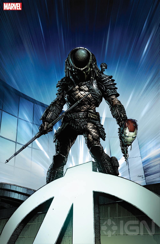 漫威漫画获得两个标志性的科幻特许经营权,外星人vs捕食者vs钢铁侠?