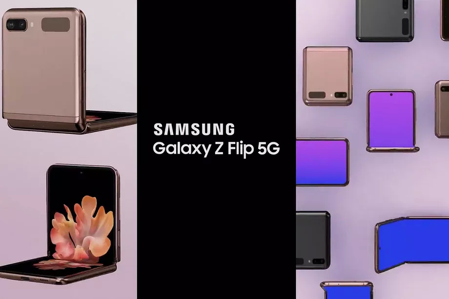 三星5G手机GalaxyZFlip可能已经在这些最新信息泄漏中得到了充分揭示