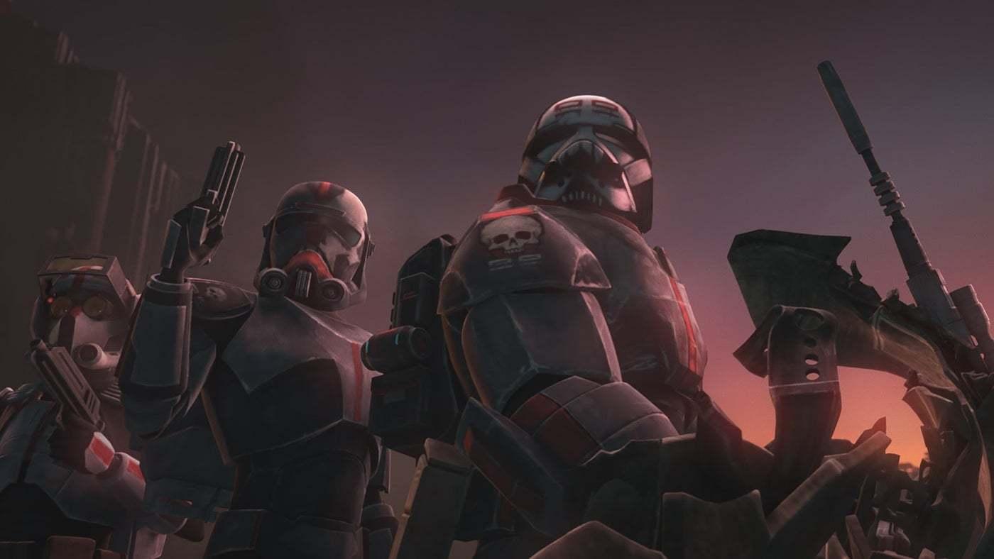 《星球大战:残兵TheBadBatch》为迪士尼Plus揭幕