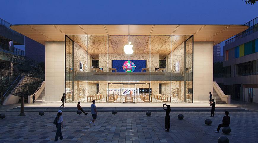 苹果三里屯线下直营旗舰店即将开业