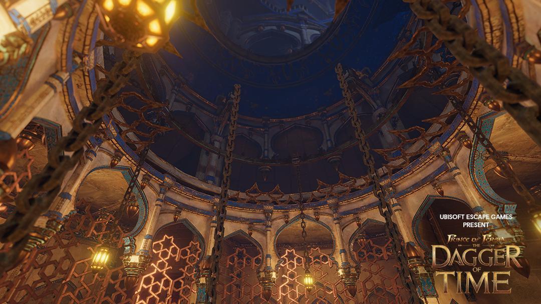 育碧发布VR密室逃脱游戏《波斯王子:时之匕首》游戏内图片