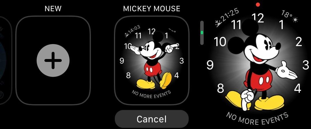 如何在苹果智能手表AppleWatch上添加或删除表盘