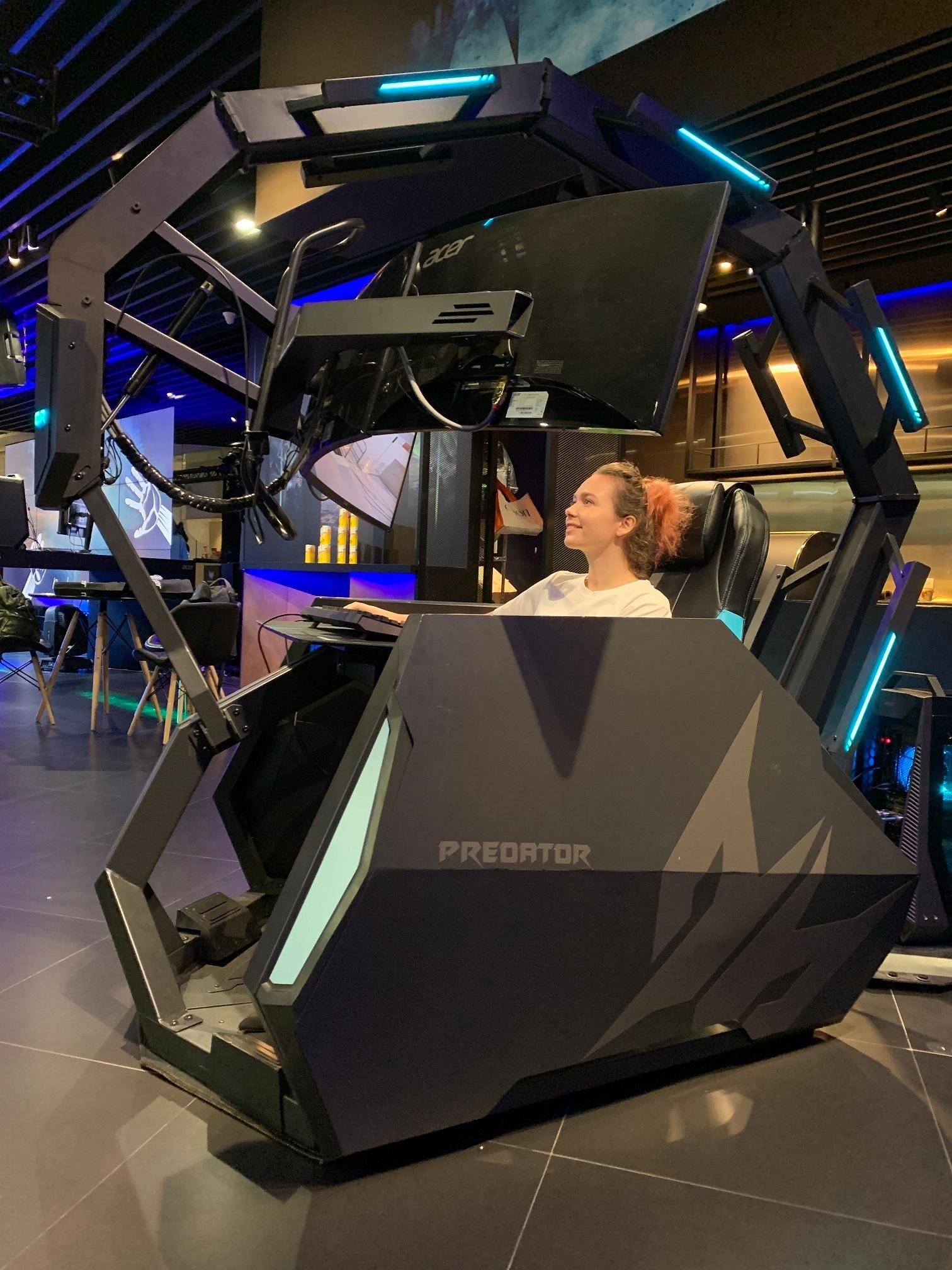 宏碁二代掠夺者电竞座舱PredatorThronosAir于品牌旗舰发布预计8月开卖