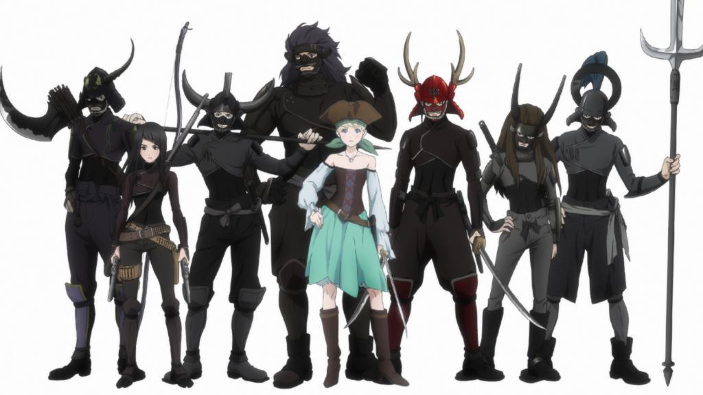 ProductionI.G担任制作原创动画《海贼王女》公开PV,将于明年播出