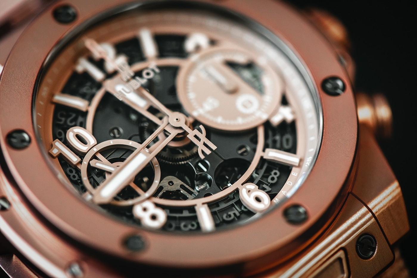 GarageItalia和宇舶联名推出千禧粉红色大爆炸系列计时手表