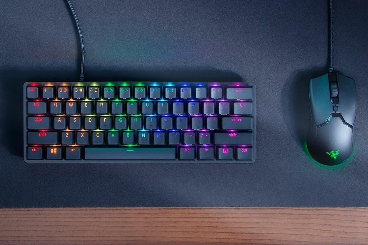 雷蛇(Razer)首次发布Huntsman迷你键盘