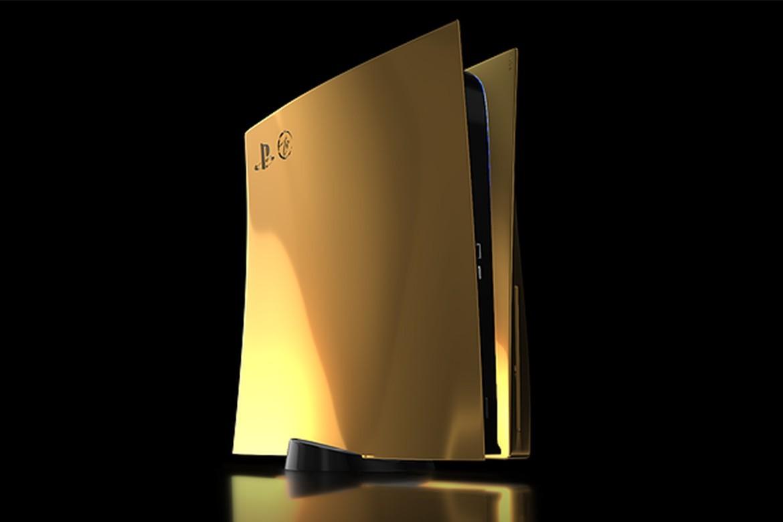 Truly Exquisite 推出 24K 金版本索尼 PS5 定制套装