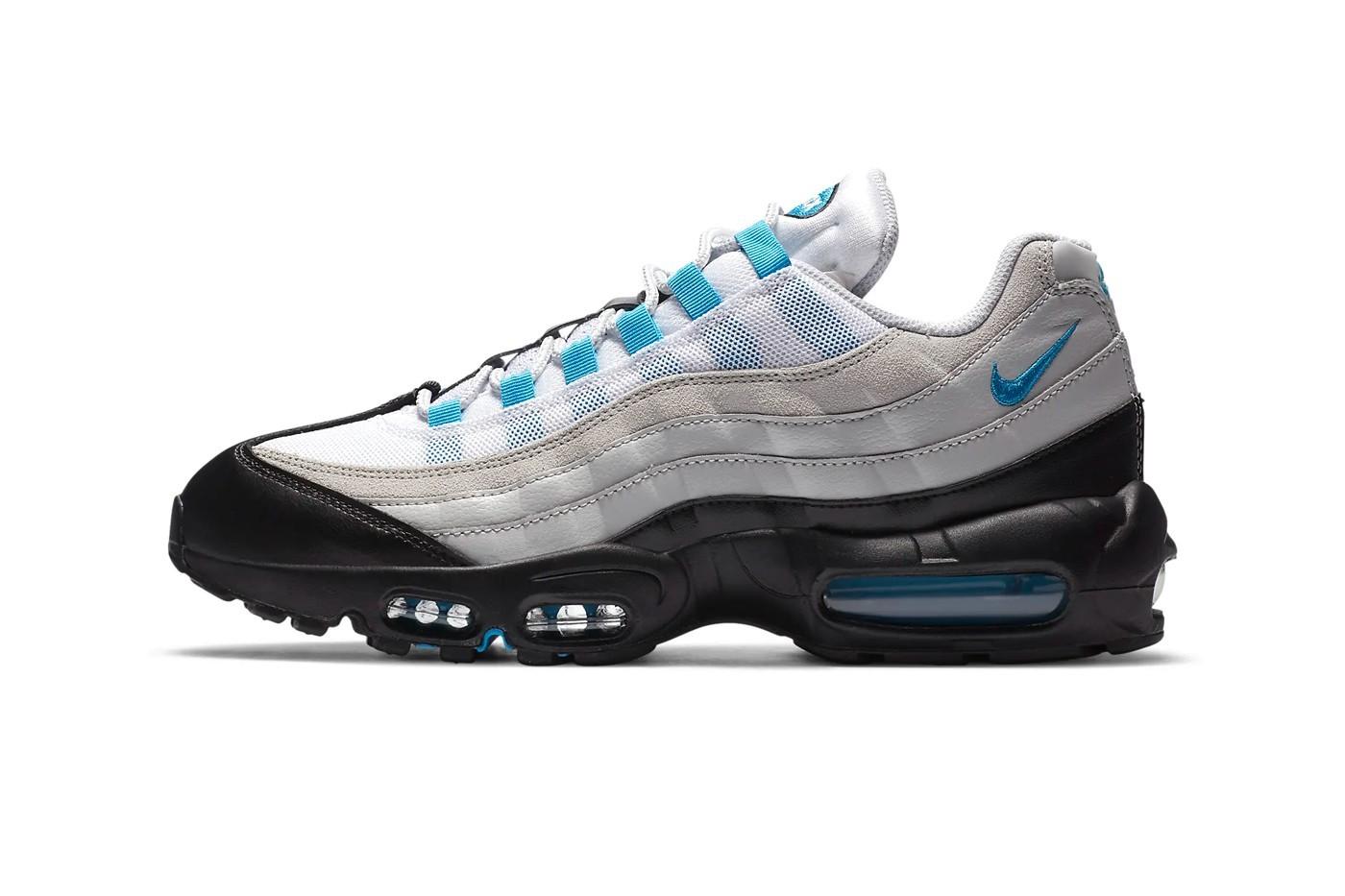 "耐克 Nike Air Max 95 发布"" Laser Blue""配色版"