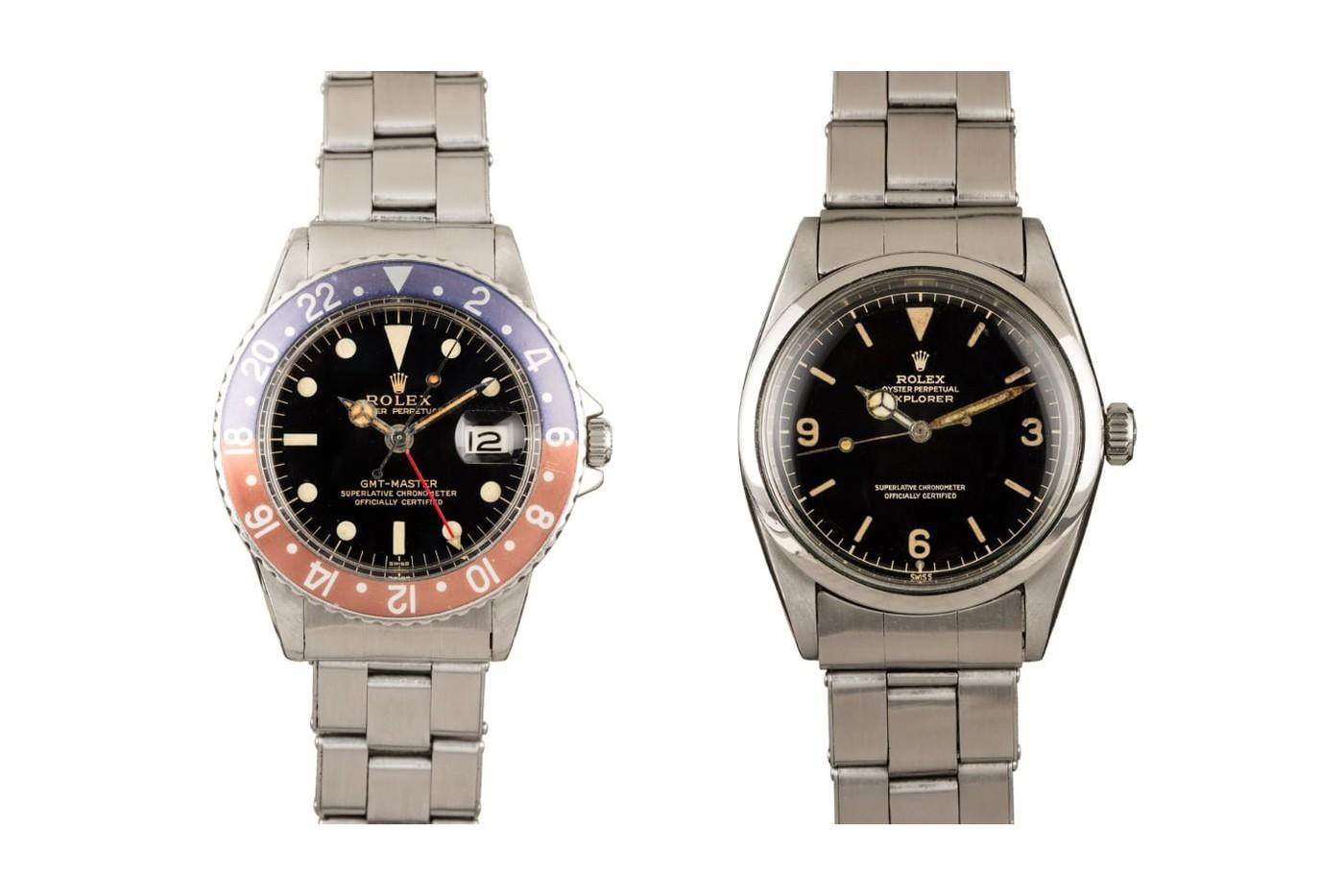 """鲍勃的手表"""" FRESH FINDS""""拍卖会有着来自60年代的劳力士"""