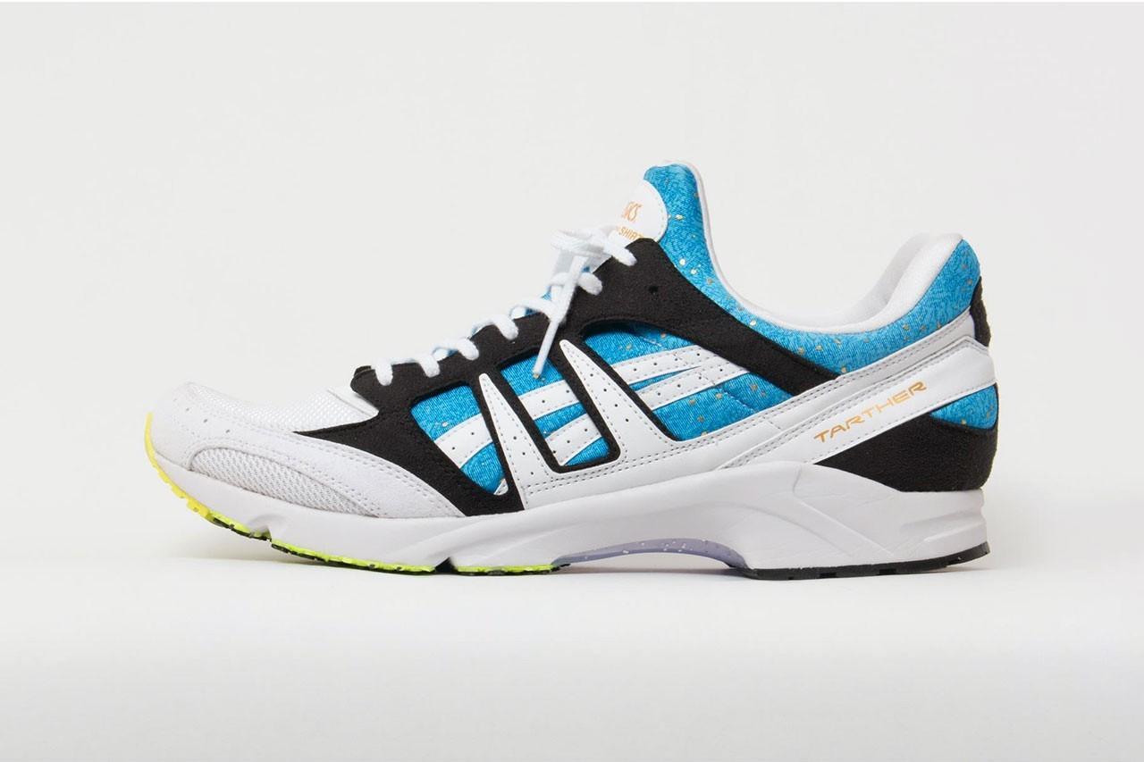 COMME desGARÇONSSHIRT提供暗淡的ASICS运动鞋合作款的官方图片