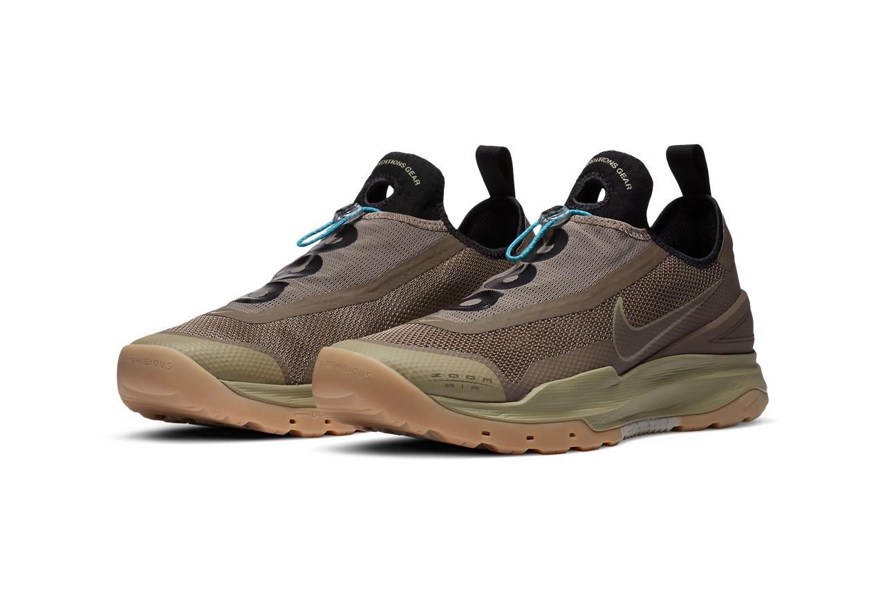 Nike ACG为2020年秋季准备新款Air Deschutz凉鞋,Air Zoom AO和Moc 3.0s