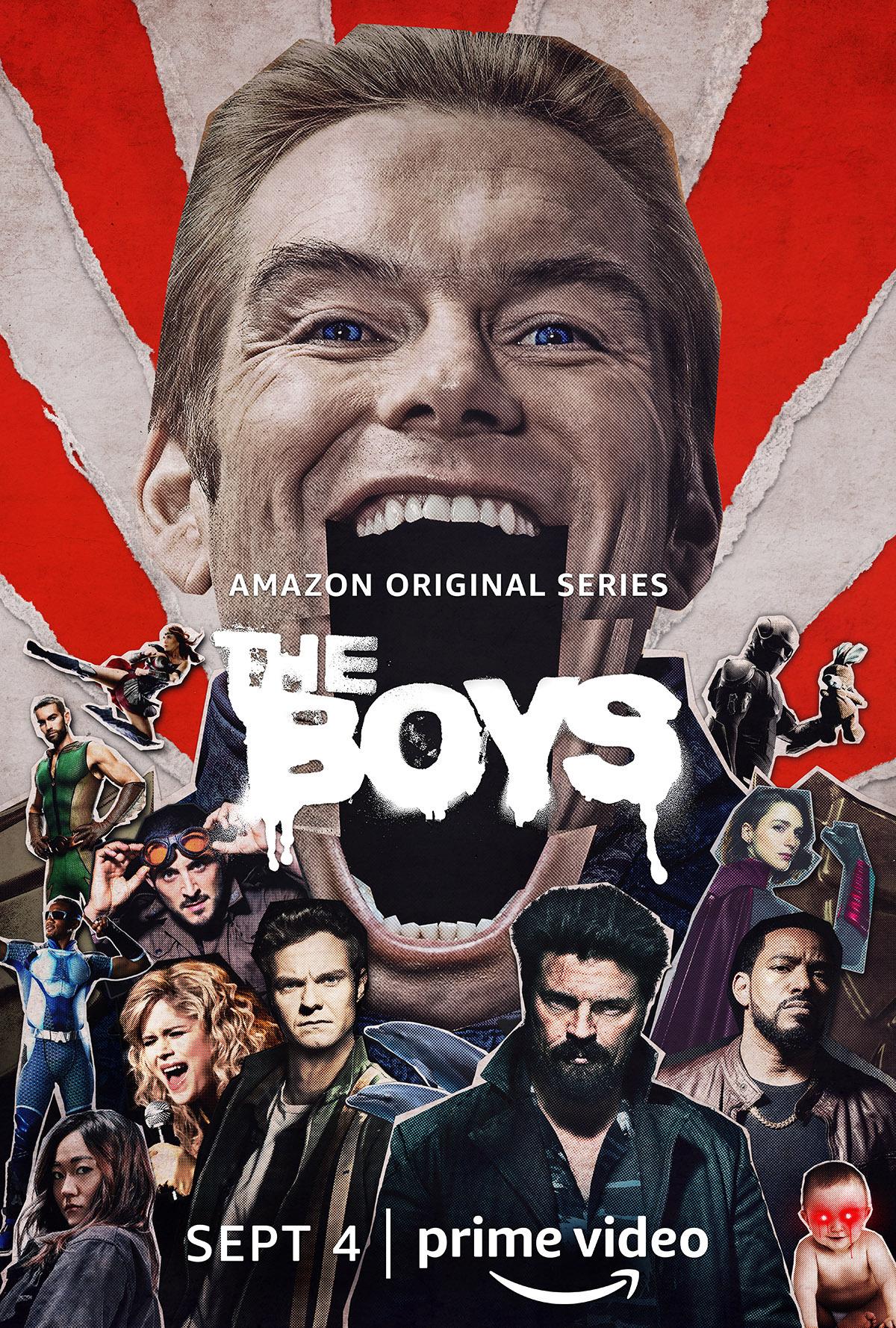 《男孩们》第2季:最终预告片和宣传海报发布