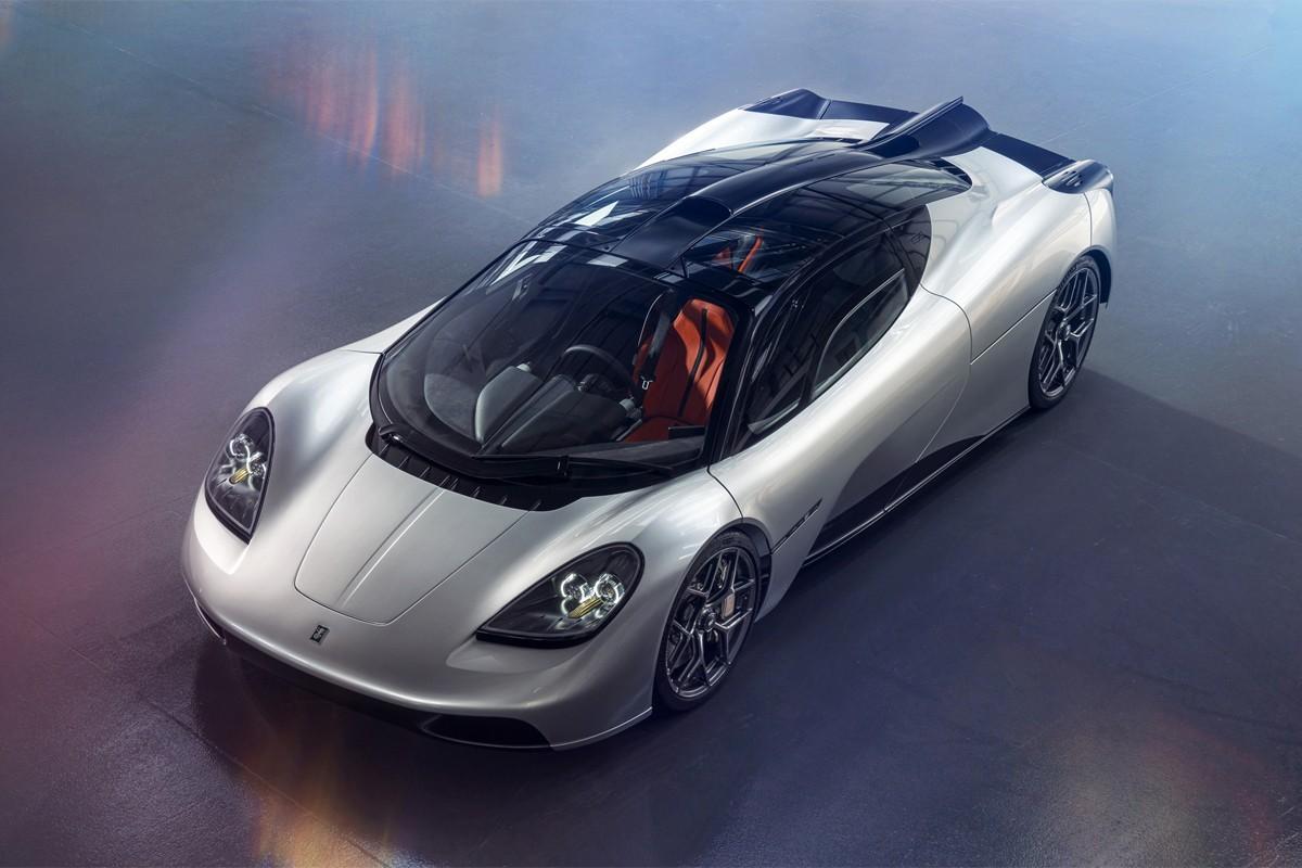 戈登·默里(Gordon Murray)首次亮相价值300万美元的迈凯轮F1赛车T.50