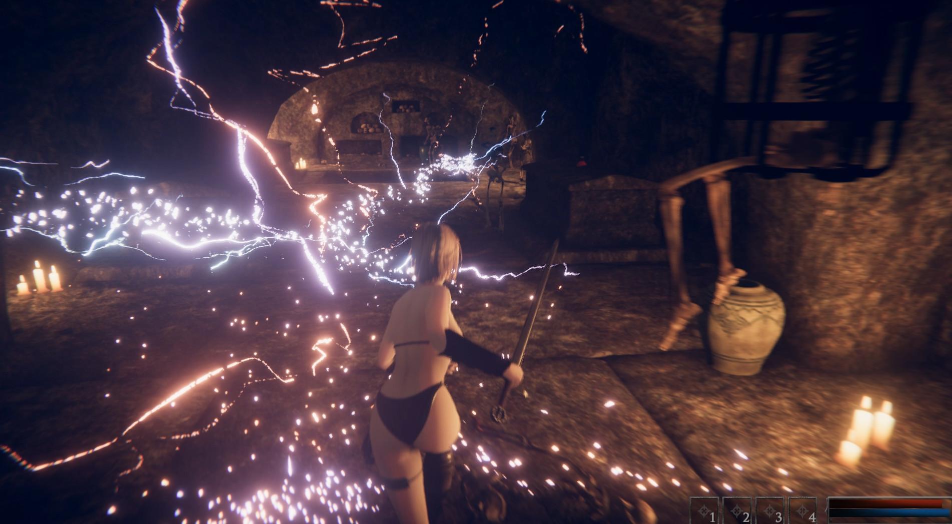《美女与暴力:女武神》将于8月正式发售,角色造型性感