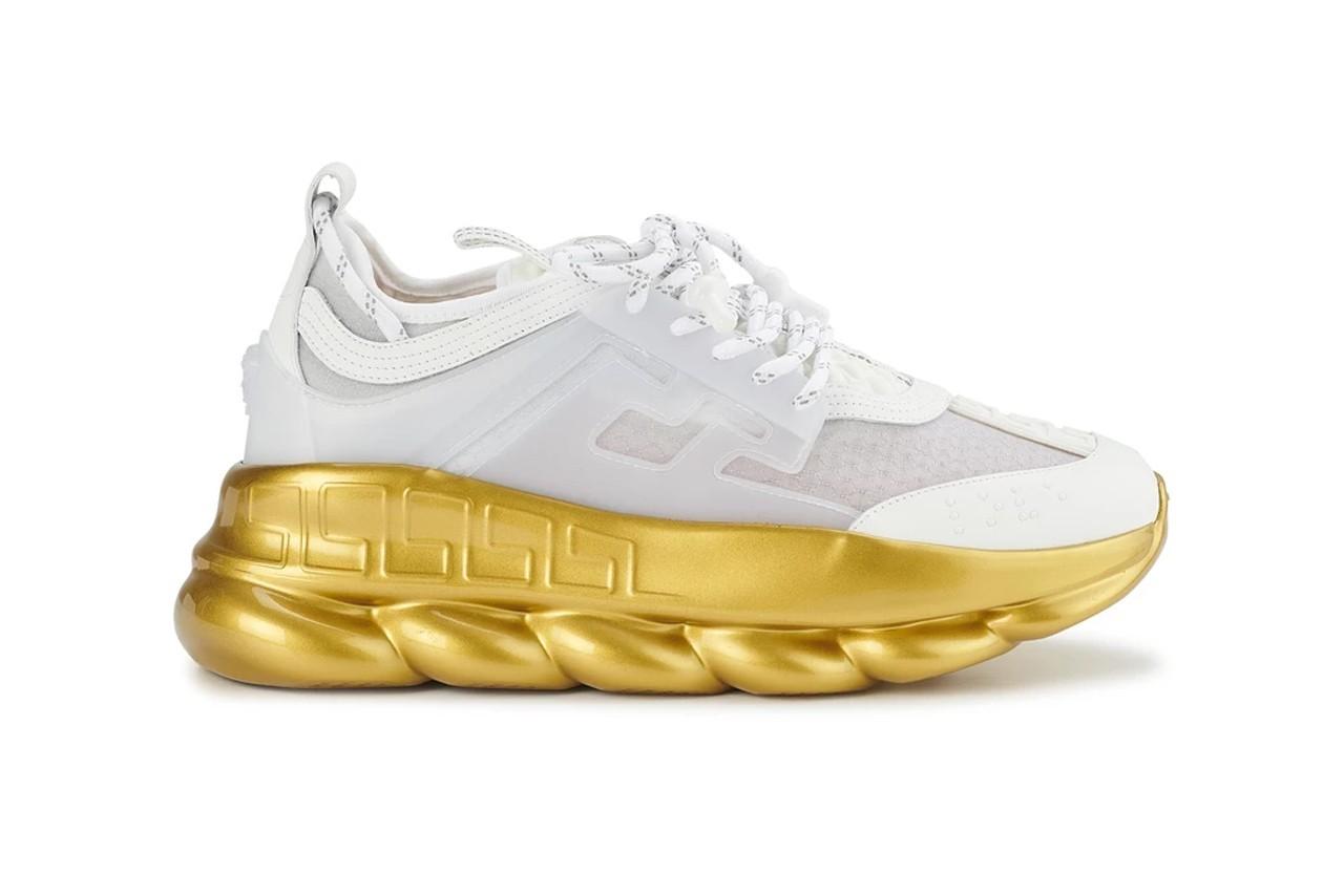 范思哲(Versace)Chain Reaction运动鞋尽显富豪风范