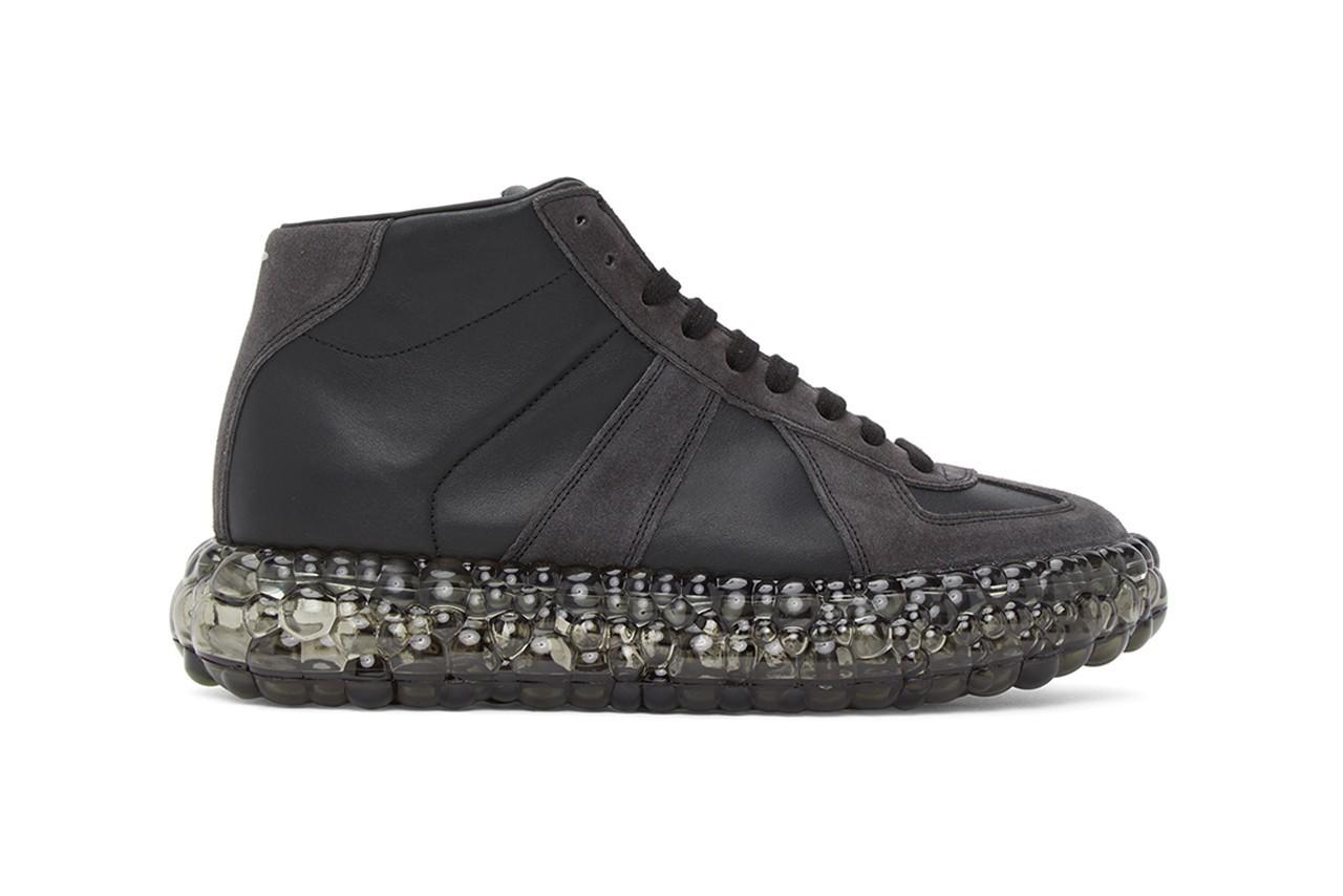 Maison Margiela 黑色Caviar运动鞋新增Black鱼子酱配色