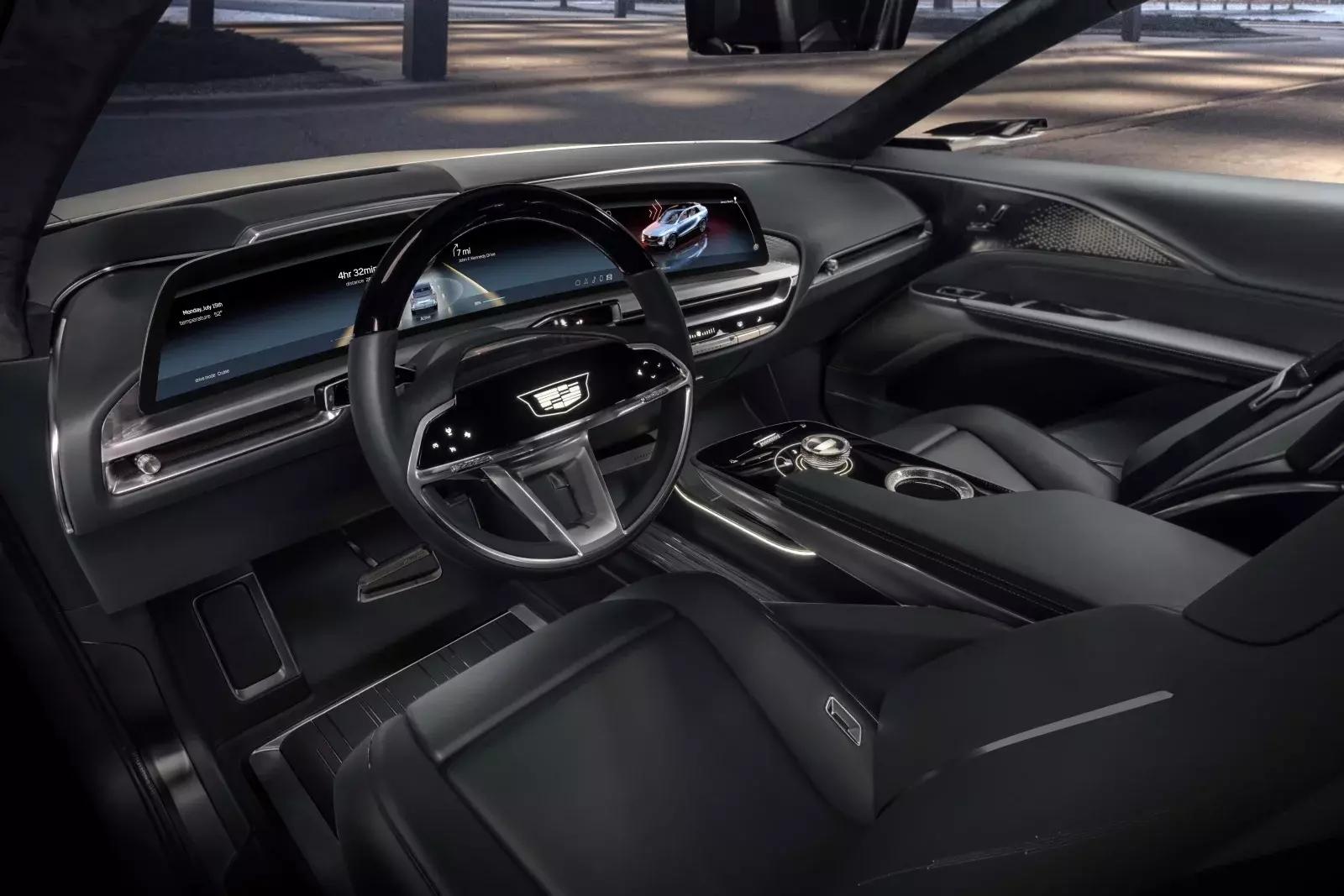 2023年推出的凯迪拉克Lyriq EV,将有很多科技在未来无法实现