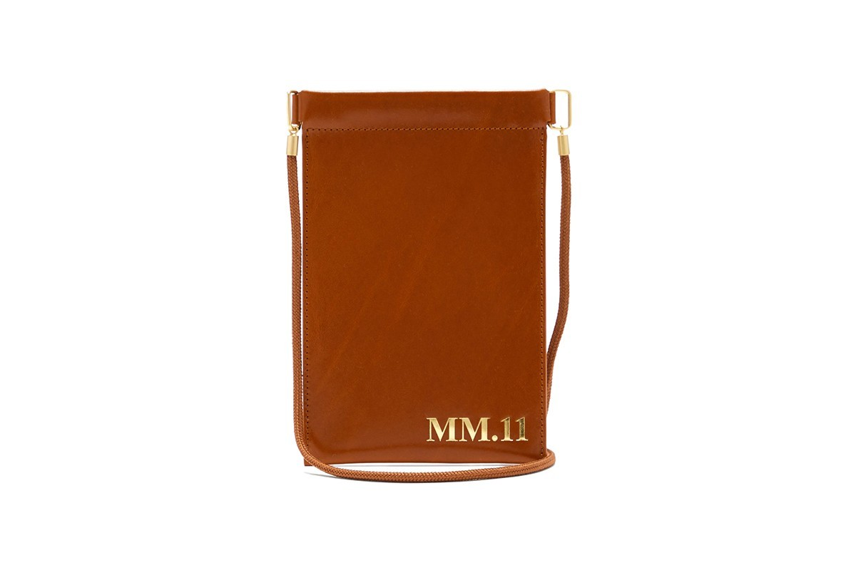 Maison Margiela发布MM.11-压纹皮革手机袋