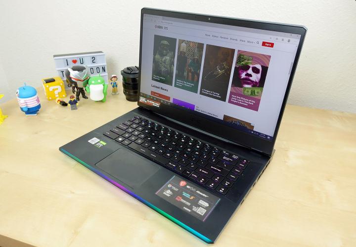 微星GE66 Raider游戏笔记本电脑评测