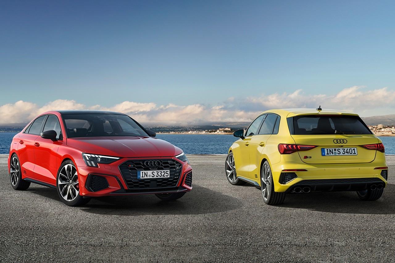 奥迪2022款 S3 Sportback和三厢轿车提供310马力,带有Quattro四轮驱动系统