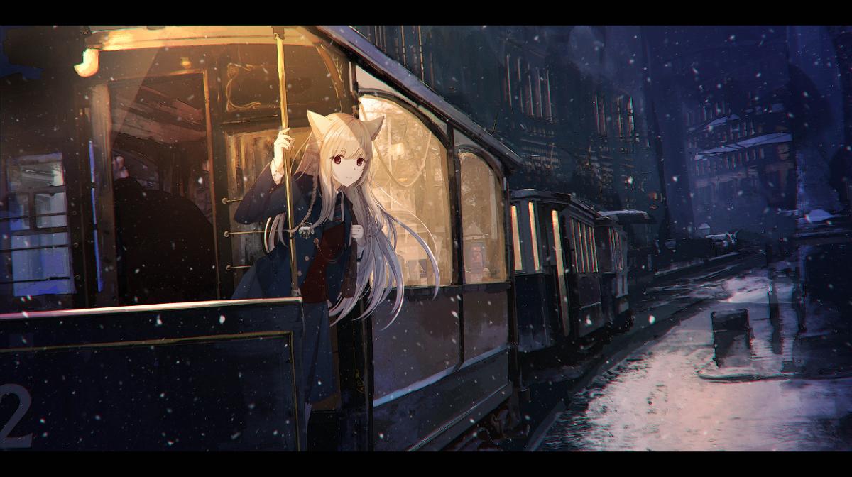 P站画师Sagiri精选作品推荐,兽耳少女专辑
